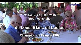 LOULOU BLANC vient de nous quitter ce 17 décembre 2018 le Monde du Rugby est en deuil. En juillet 2013 il fêtait ses 80 ans avec ses amis...