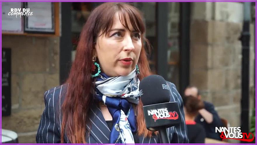 Nantes & Vous TV - La Maire de Bouguenais aux cotés des commerçants