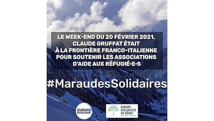 Montgenèvre, zone de non-droit pour la dignité humaine ! @gruffat_claude #HumanRights #EndPushbacks #MaraudesSolidaires #droitshumains